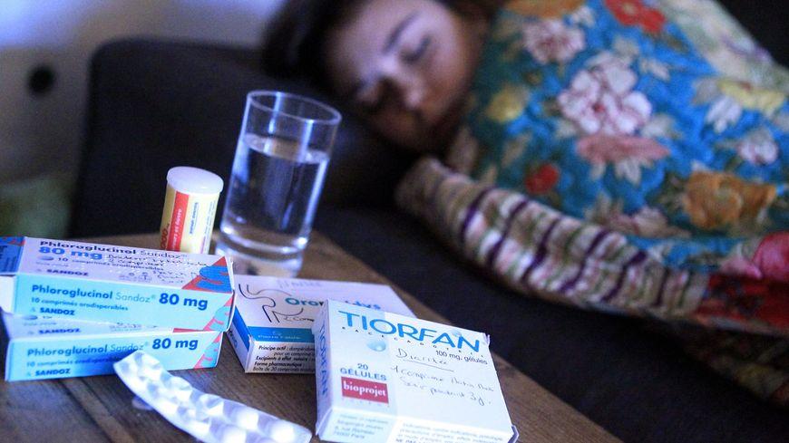 Illustration épidémie de gastro-entérite
