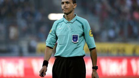 C'est la deuxième fois cette saison qu'Hakim Ben El Hadj va diriger le Stade de Reims.