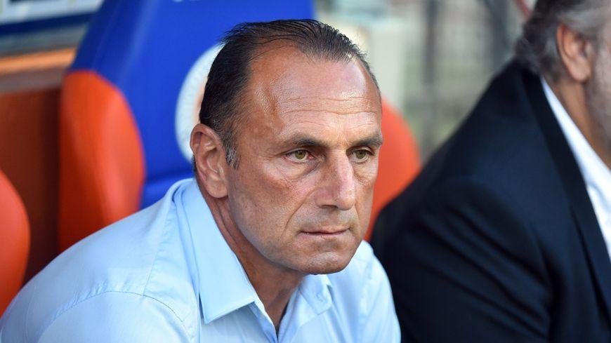 Michel Der Zakarian, l'entraîneur du Montpellier Hérault