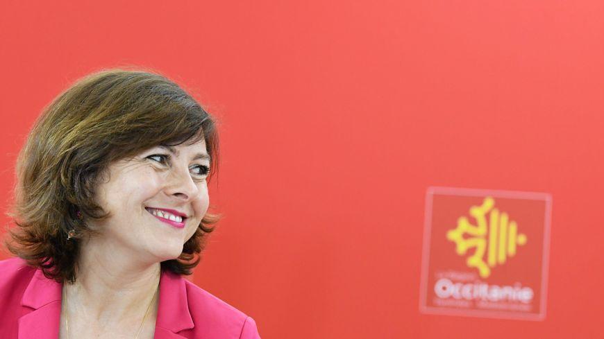 Carole Delga, présidente de la Région Occitanie, en juillet 2018
