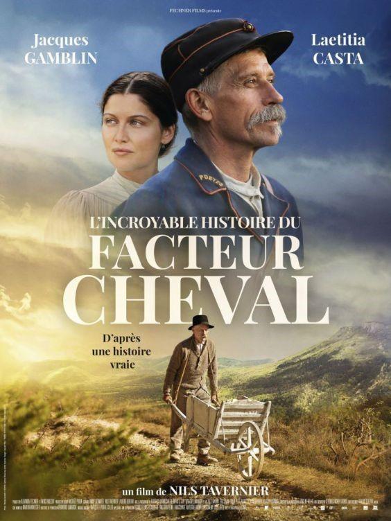 """L'affiche du film de """"L'Incroyable Histoire du Facteur Cheval"""""""