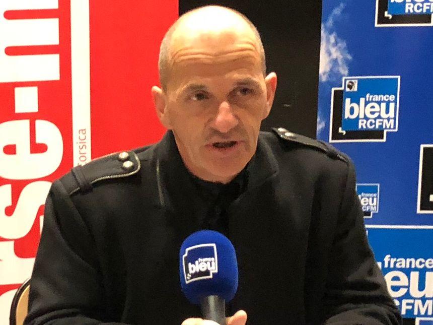 Patrick Rebillout, chef de centre Météo France, Ajaccio