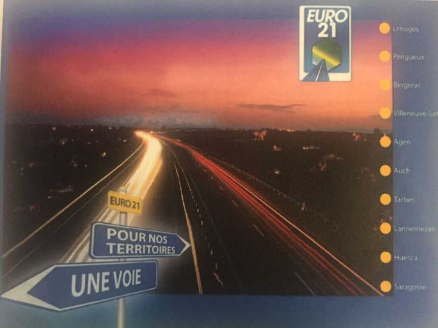 L'association Euro21 veut l'élargissement de la RN21