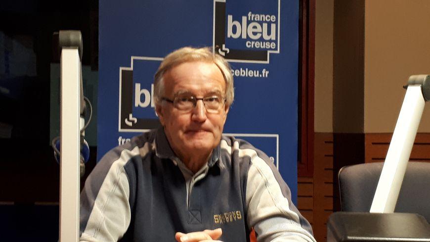Gérard Rouchon, le président des Restos du coeur en Creuse