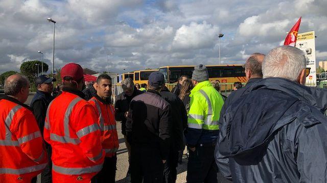 3 jours de blocus des bus Tango à Nîmes pour faire plier la direction.
