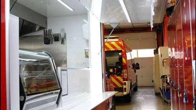 Le VRAV , véhicule de ravitaillement des pompiers de Côte-d'Or