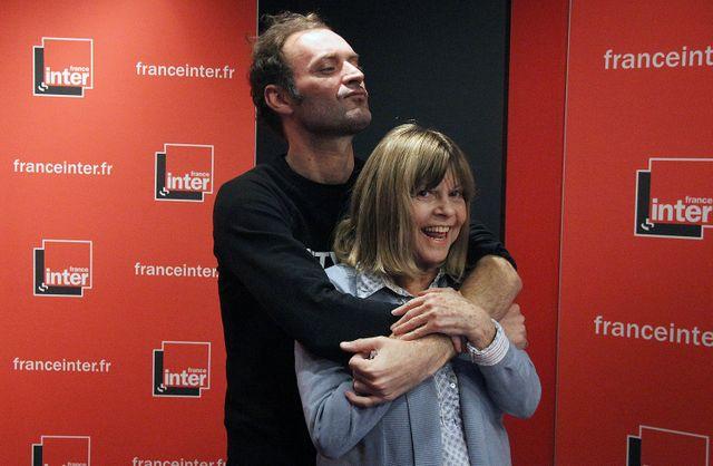 Augustin Trapenard et Chantal Goya