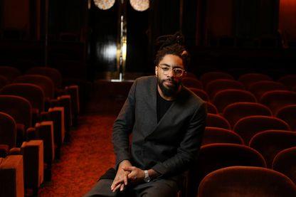 Fary, humoriste français, au théâtre Antoine, à Paris (06 février 2017)