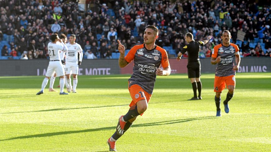 Andy Delort a marqué ce dimanche 25 novembre son premier doublé en Ligue 1