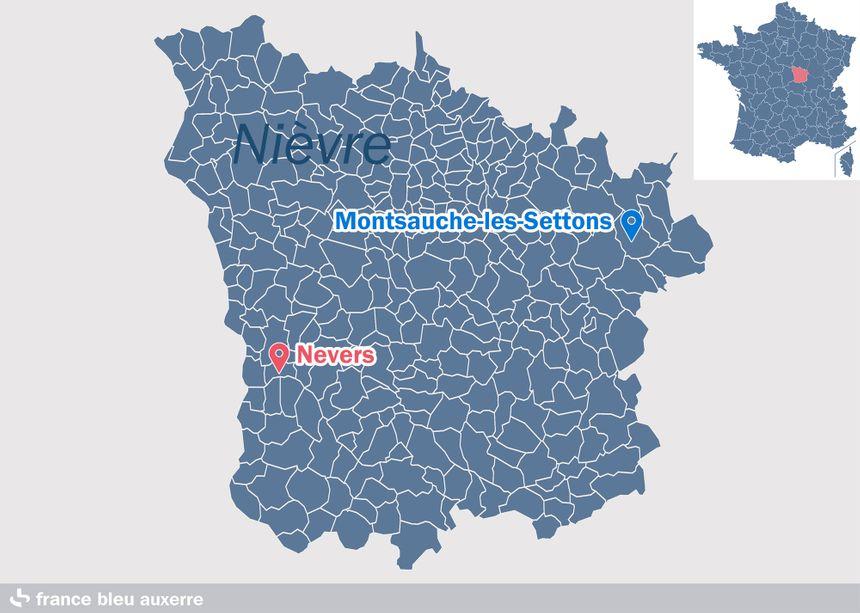 Montsauche-les-Settons, dans la Nièvre