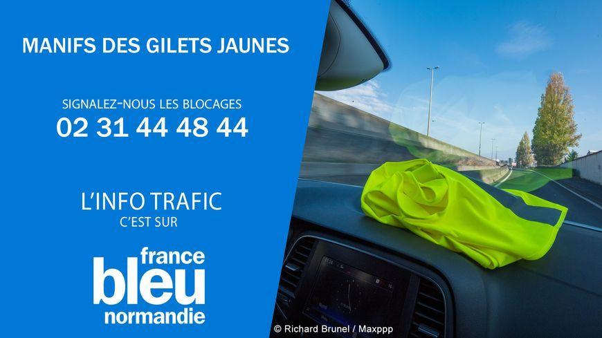 mobilisation des gilets jaunes : points trafic