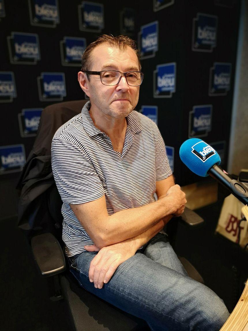 Michel Oury, chef du Café des Halles