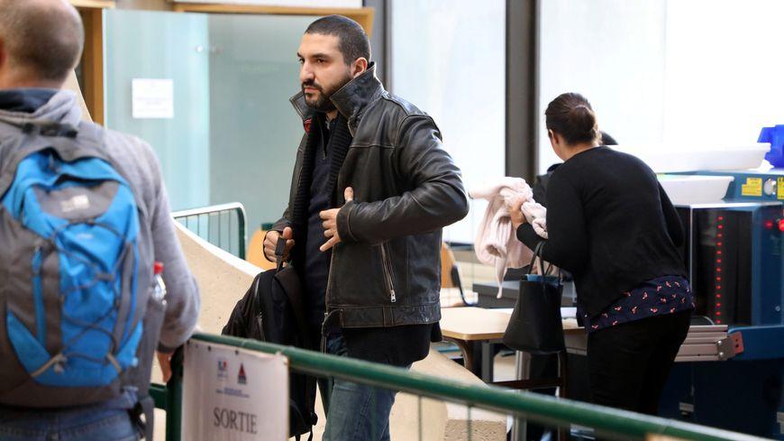 Le musicien lors de son procès le 9 novembre