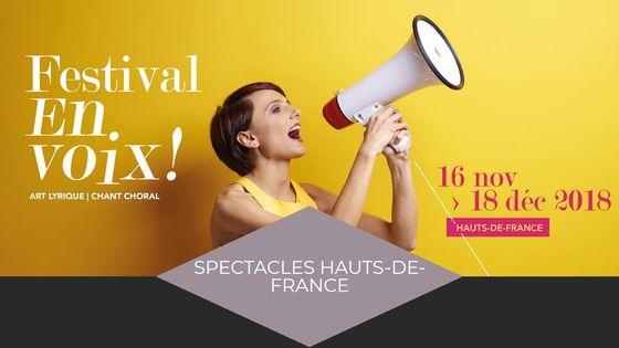 Visuel festival En Voix 2018