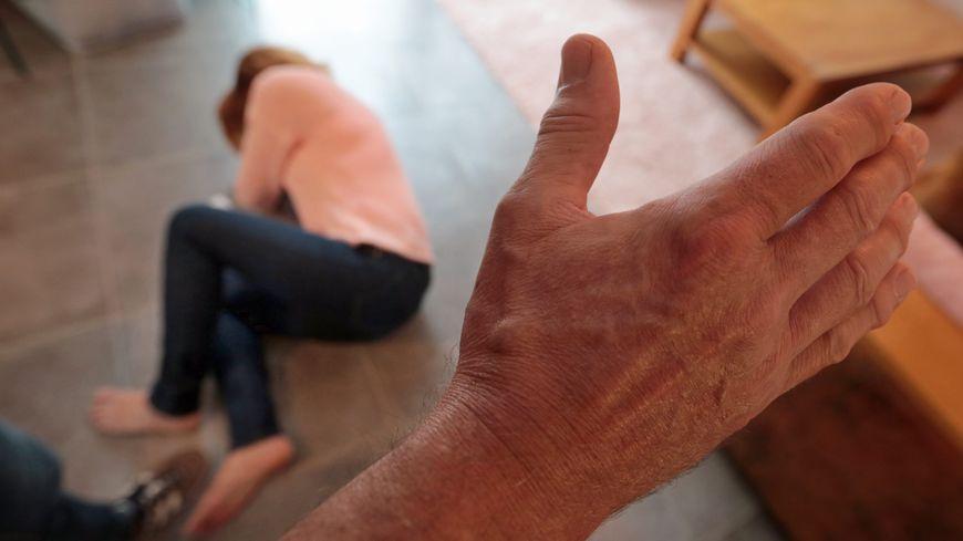 Femme battue ( photo d'illustration)