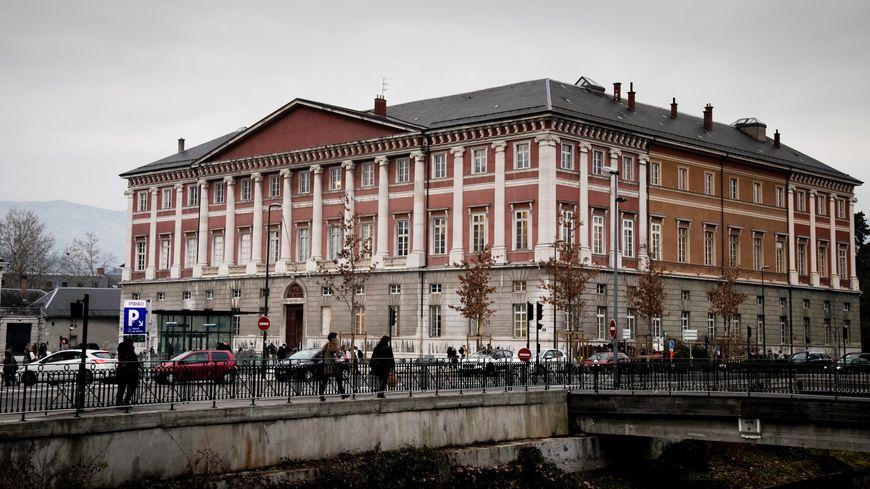 Le palais de justice de Chambéry