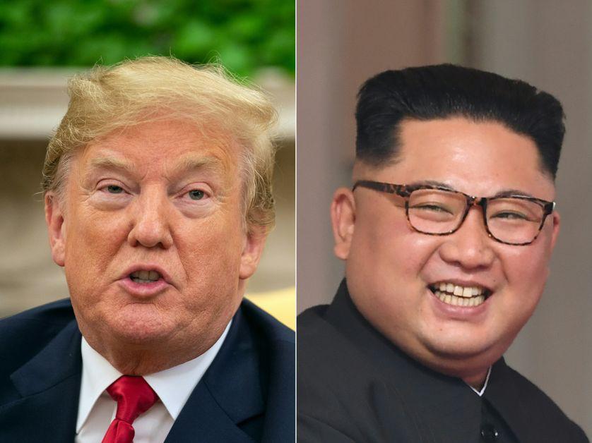 Doland Trump et Kim-Jong-Un