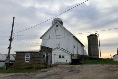 Une ferme des environs de Madison, Wisonsin
