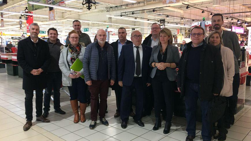 Une vingtaine de patrons de la zone Poitiers-Sud ont assisté à une réunion mercredi 28 novembre.