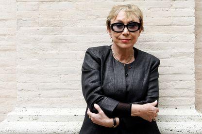 Julia Kristeva, philologue, psychanalyste et femme de lettres française d'origine bulgare (21 juin 2010 - dans un festival littéraire à Rome, Italie)