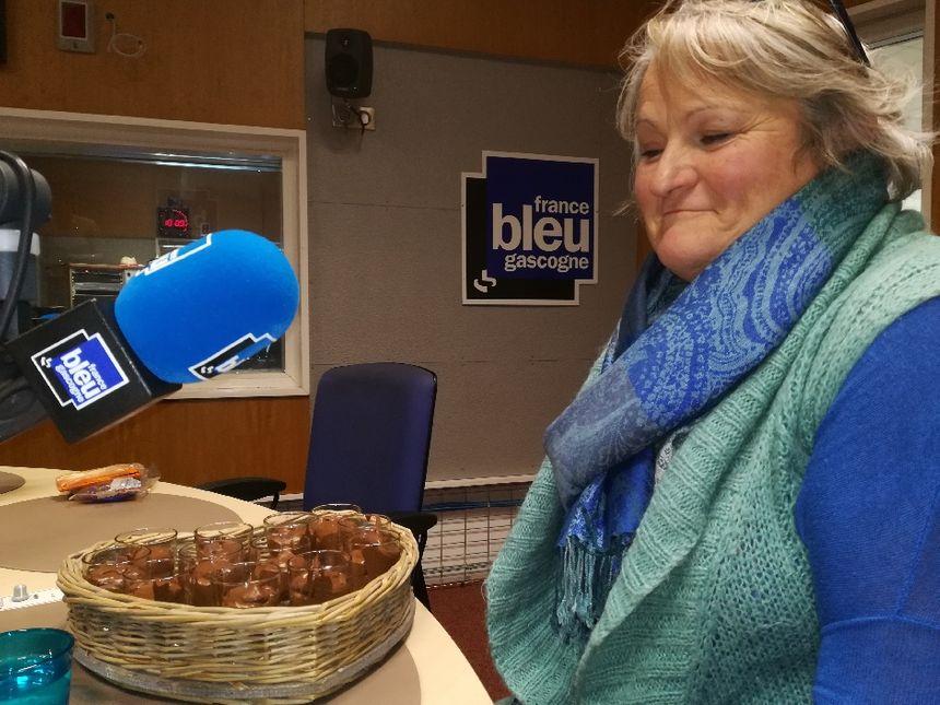 Christine de Canenx et ses mousses au chocolat !