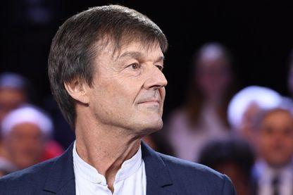 """Nicolas Hulot sur le plateau télé de """"L'émission politique"""" de France 2"""