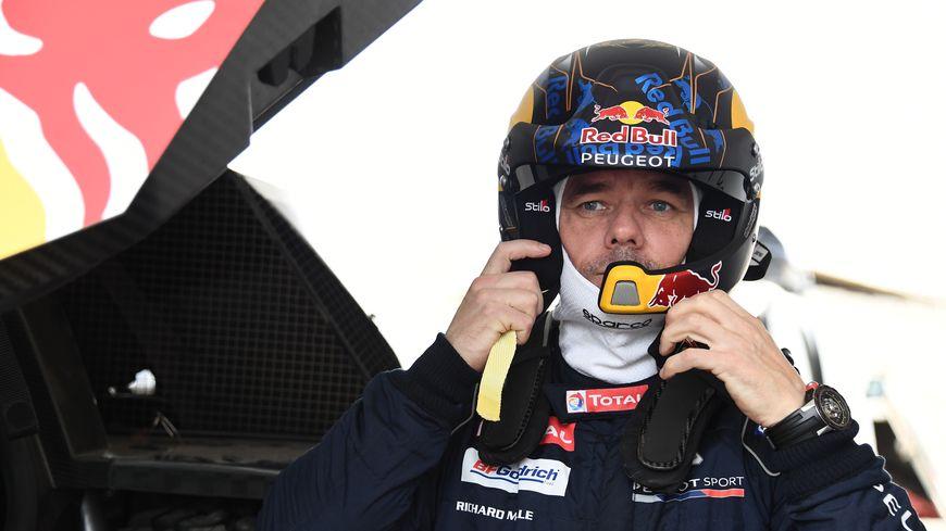 Sébastien Loeb au Dakar.