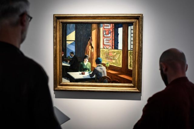 """""""Chop Suey"""", de Edward Hopper, est le tableau le plus cher de la vente"""