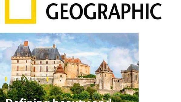 La revue National Geographic met la Dordogne à l'honneur
