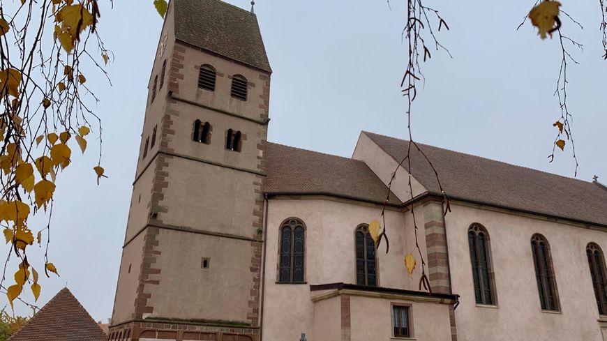 Kuttolsheim, l'Église Saint-Jacques-le-Majeur