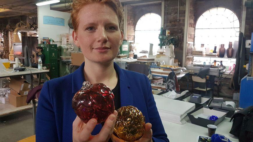 Nathalie Nierengarten, fille de Meisenthal à dessinée Arti le boule 2018 du CIAV