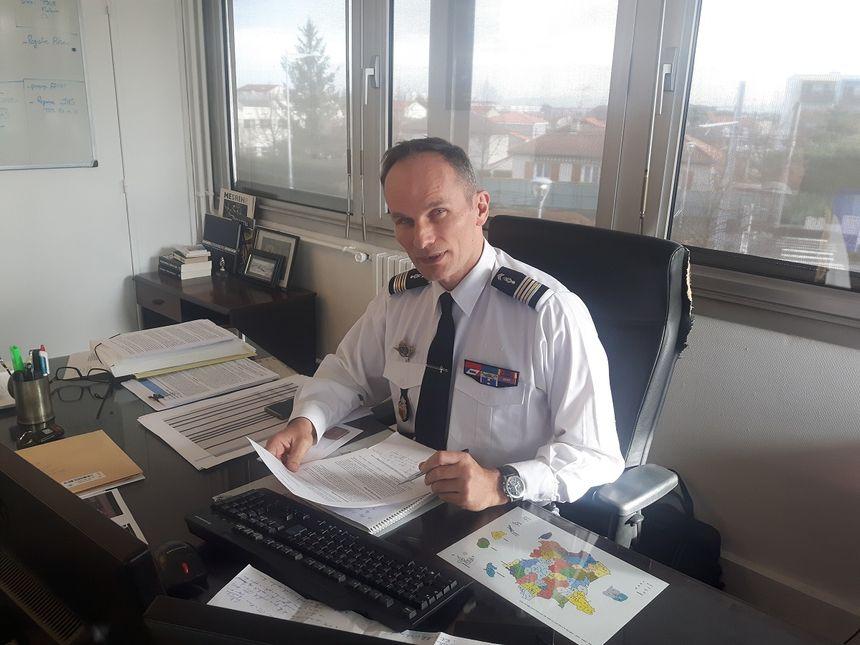 Le Lieutenant-Colonel Christophe Berthelin commande la SR de Clermont