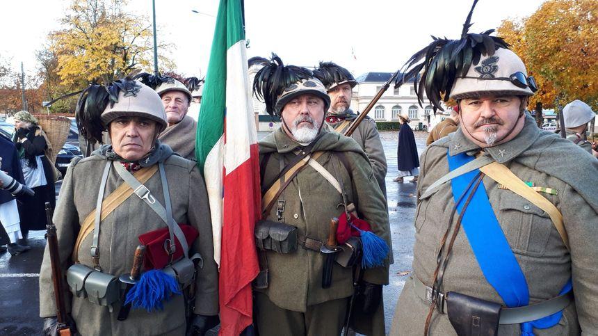 3e régiment Berslieri Italien du Piemont.