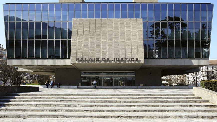 Le palais de Justice d'Annecy.