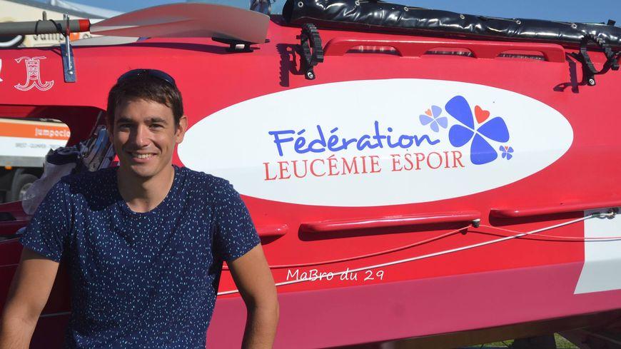 Jérôme Bahuon va traverser l'Atlantique à la rame pour la fédération Leucémie Espoir