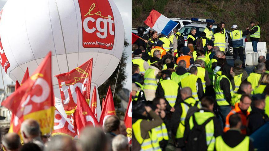 CGT et gilets jaunes, ensemble à Orléans pour la manifestation du 29 novembre sur le pouvoir d'achat