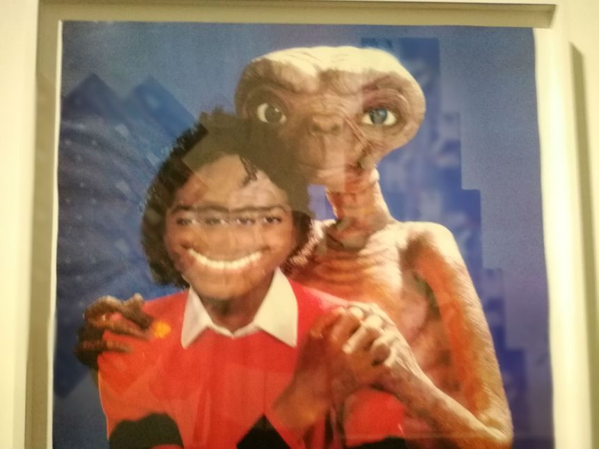 Photo de l'exposition Michael Jackson au Grand Palais