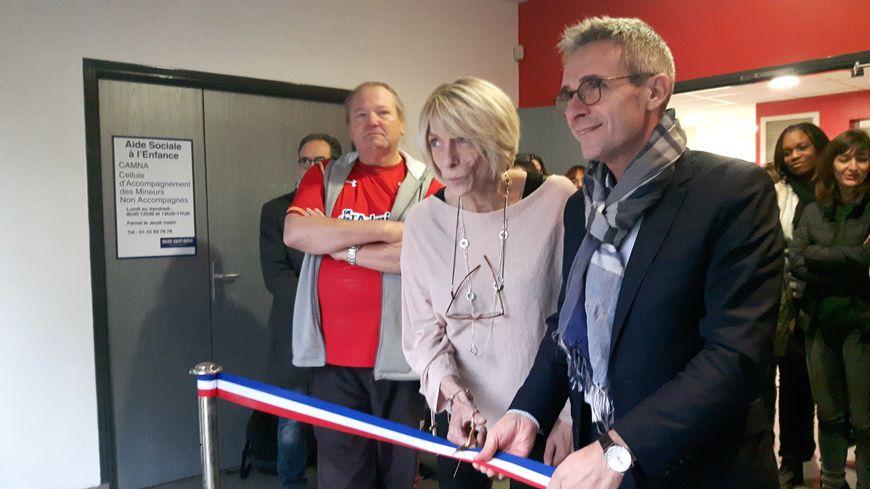 Inauguration de la cellule pour mineurs étrangers non accompagnés à Bobigny