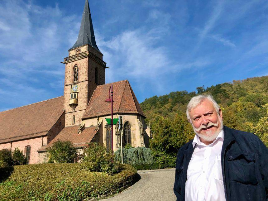Vieux-Thann, René Gerber, église St. Étienne