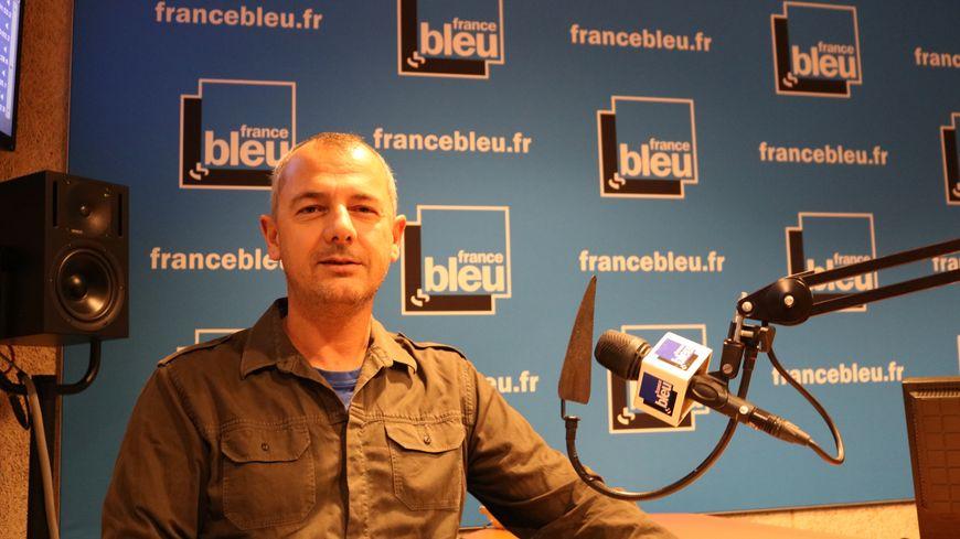 Nicolas Benoit, secrétaire départemental de la CGT-Isère