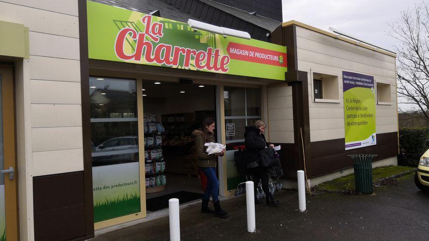 La Charrette ouvre un deuxième magasin de produits locaux à Truyes, près de Cormery.