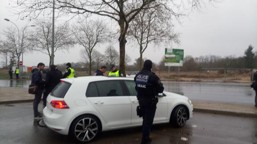 Contrôle routier avec la Police Municipale d'Orléans