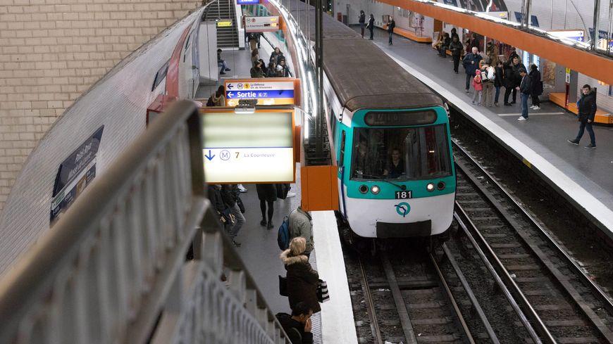 Illustration métro