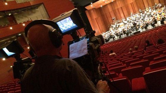 Captation du Concert de l'Orchestre des Jeunes de la Méditerranée du Festival d'Aix-en-Provence le 21 juillet 2015