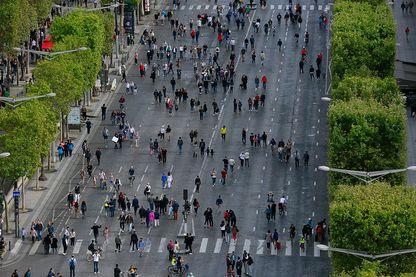 Une journée sans voitures à Paris