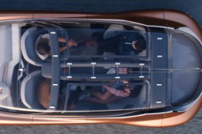 Capture d'écran de la publicité pour AEX de Renault (chaîne youtube @Groupe Renault)