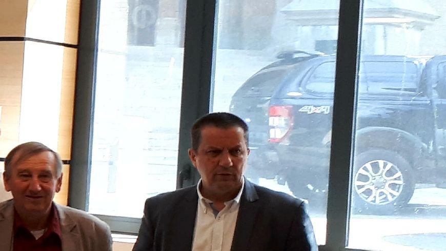 Le maire de Mende Laurent Suau