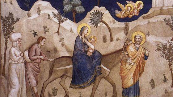 Giotto di Bondone : La Fuite en Égypte (DP) -  Berlioz, L' Enfance du Christ / Musicopolis