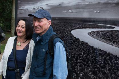 Le photographe Sebastiao Salgado avec sa femme Lelia Wanick Salgado