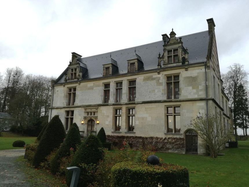 L'association Touches d'histoire vise à faire connaître le patrimoine régional, comme le château de Gromesnil, à Saint Romain de Colbosc. - Radio France